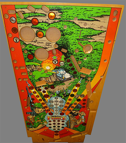 Planetary Pinball Special Force Playfield (Read Description)