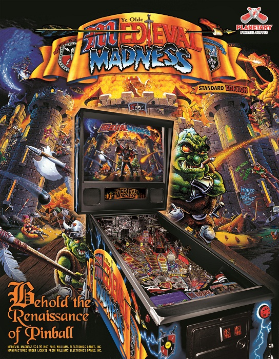 Medieval Madness STANDARD Edition Remake – Pre-Reserve UPDATE
