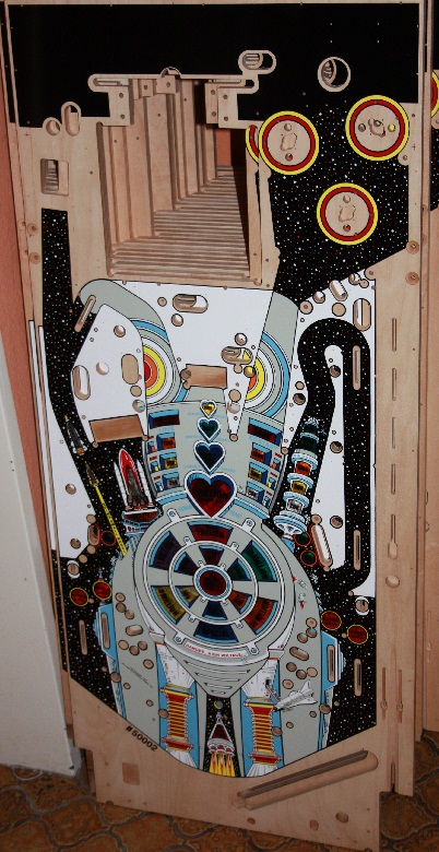 Bride of Pinbot Playfield!